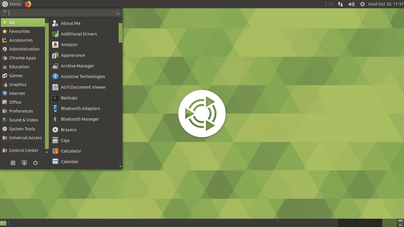 mate desktop in ubuntu